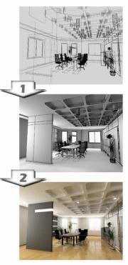 projet architecte dplg intérieur